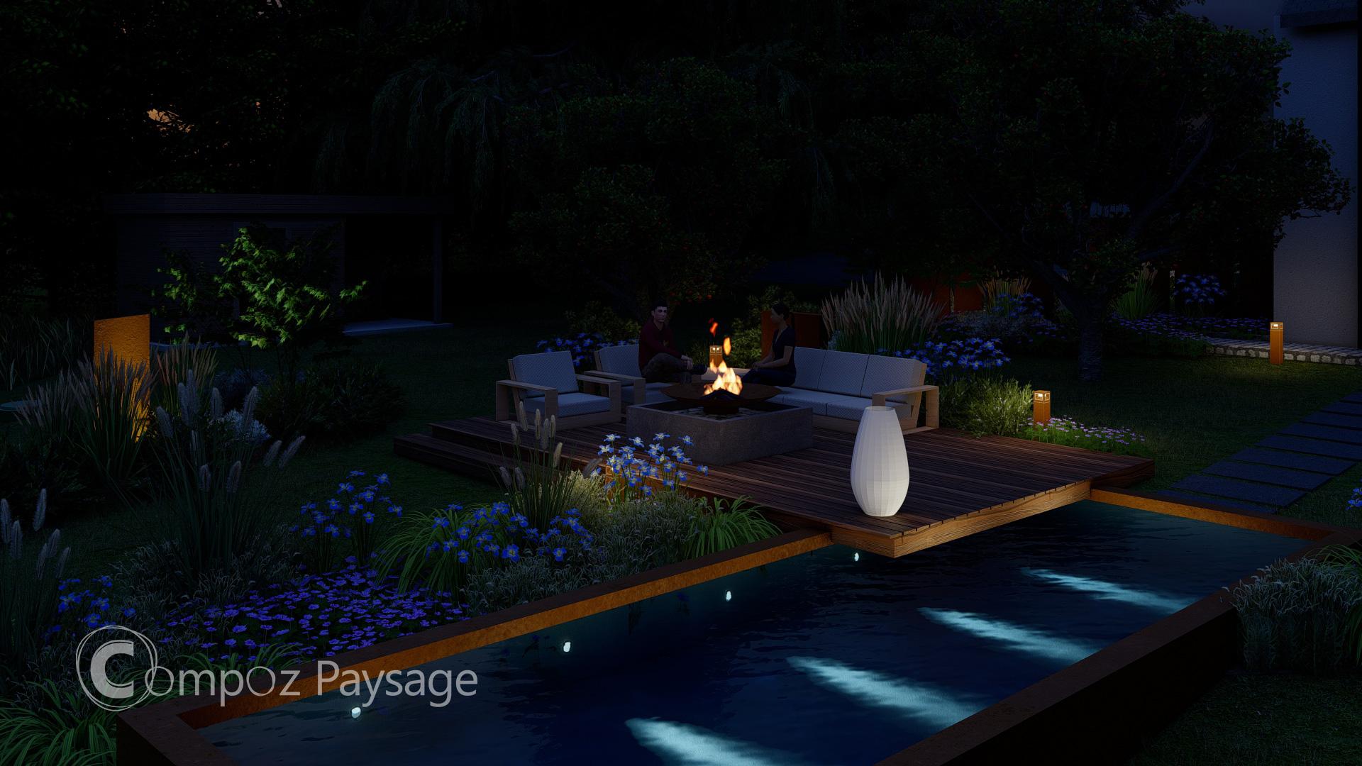 Image 3D (Lumion) d'un projet conçu en 2021